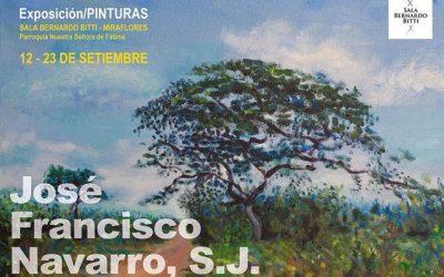 MUESTRA INDIVIDUAL DEL P. JOSÉ FRANCISCO NAVARRO SJ EN LA SALA BERNARDO BITTI